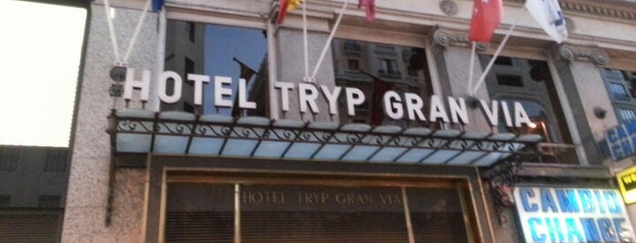 Tryp Gran Vía is one of Hotels 2.