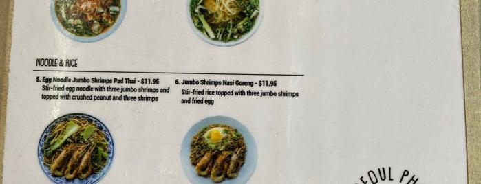Seoul Pho is one of LA Eats TD.