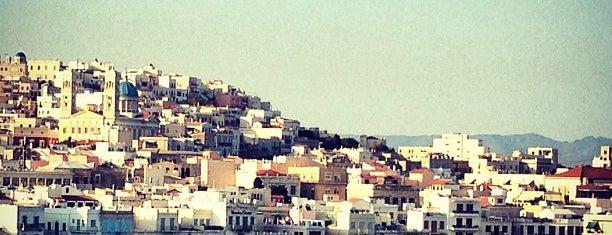 Syros Port is one of Nihan'ın Beğendiği Mekanlar.