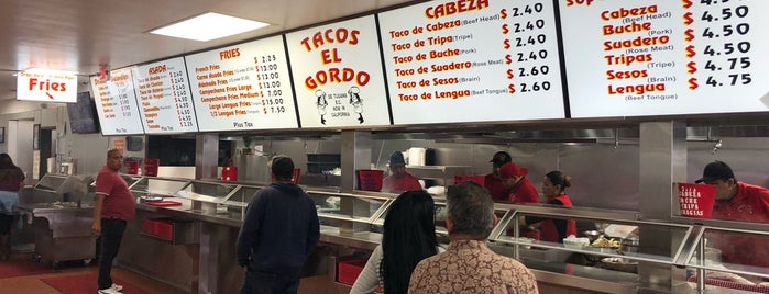 Tacos El Gordo is one of Recs from Friends.