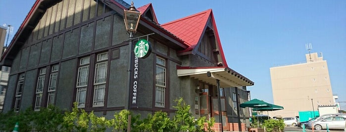 Starbucks is one of 青森関係.