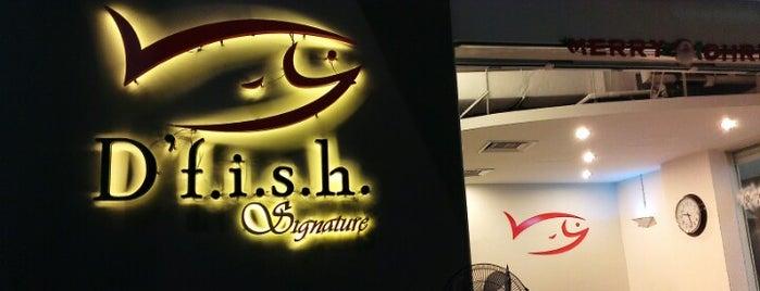 D'f.i.s.h. Signature is one of สถานที่ที่ Aishah ถูกใจ.
