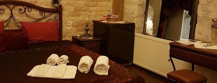 perAlaçatı BOUTIQUE HOTEL is one of สถานที่ที่บันทึกไว้ของ Emre.