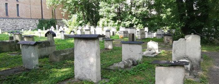 Stary Cmentarz Żydowski / Cmentarz Remuh is one of Krakow.