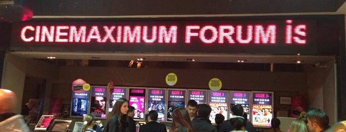 Cinemaximum is one of Rafet'in Beğendiği Mekanlar.