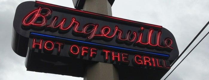 Burgerville is one of สถานที่ที่ Rod ถูกใจ.