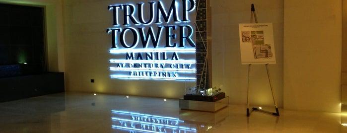 Trump Tower Manila Showroom is one of Century Properties.