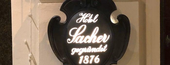 Café Sacher is one of Tempat yang Disukai Ricardo.