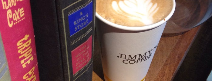 Jimmy's Coffee is one of Toronto's Cutest Coffee Shops.