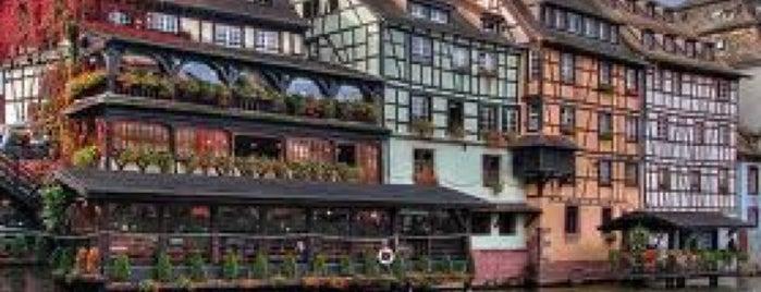 La Petite France is one of Straßburg.