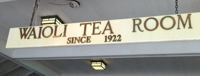 Waioli Tea Room Restaurant & Bakery is one of Favorite Local Kine Hawaii.