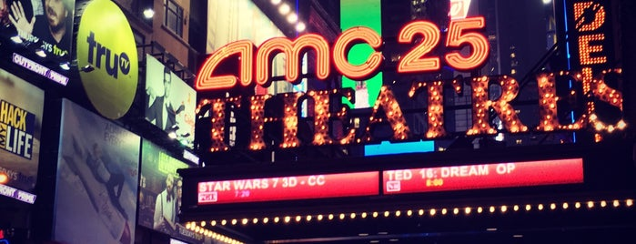 AMC Empire 25 is one of The New Yorkers: Extracurriculars.