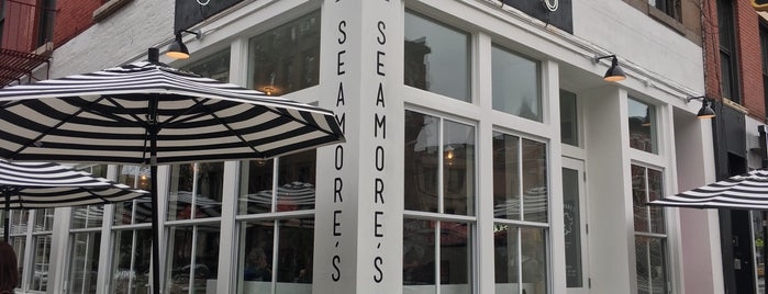 Seamore's is one of Anjo's NY Good Eats.