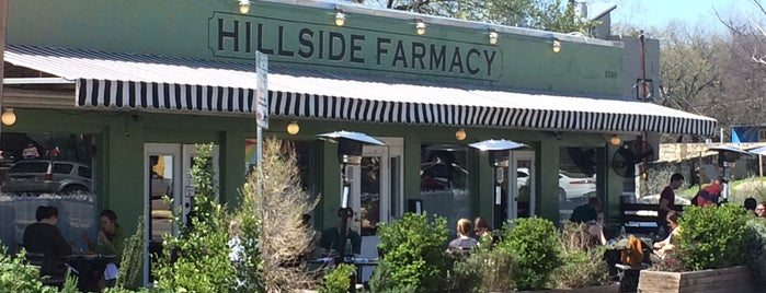 Hillside Farmacy is one of Best Coffices in Austin.