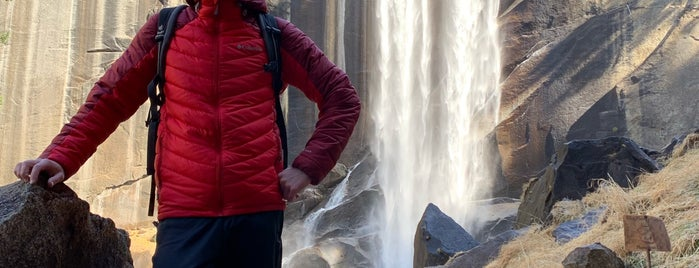 Vernal Falls is one of Anthonyさんのお気に入りスポット.