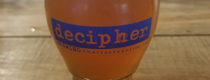Decipher Brewing is one of Orte, die Bridget gefallen.