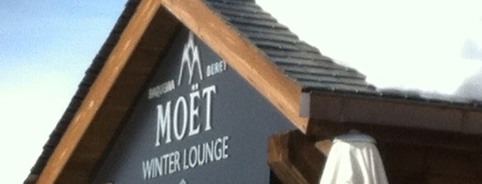 Moët Chandon Winter Lounge is one of Anaさんのお気に入りスポット.