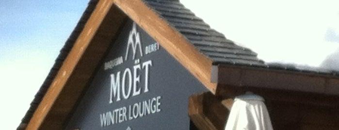 Moët Chandon Winter Lounge is one of Tempat yang Disukai Ana.