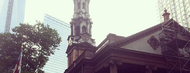 St. Paul's Chapel is one of NY.