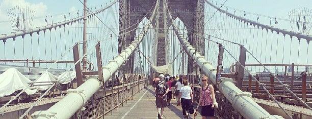 Бруклинский мост is one of NY.