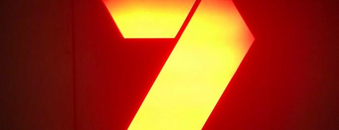 Channel Seven is one of Tempat yang Disukai Matt.