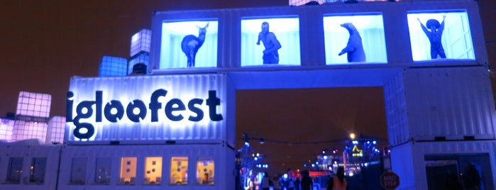 Igloofest 2016 is one of *Montreal*.