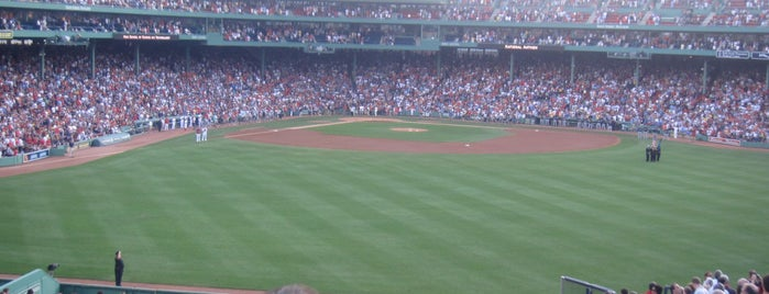 Fenway Park is one of *Boston*.