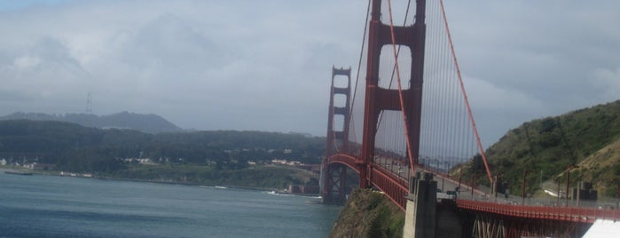 Golden Gate Bridge is one of *San Francisco*.