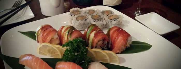 Tani Asian Grill is one of *Sushi Addicts*.