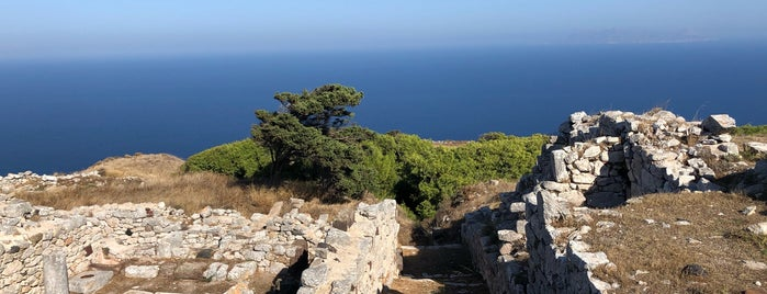 Ancient Thera is one of greece.