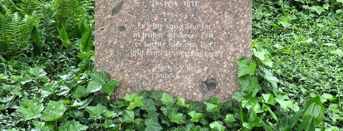 Kleistgrab   Heinrich von Kleist & Henriette Vogel is one of Grün und Blau Berlin.