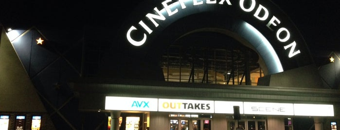 Cineplex Cinemas is one of Lieux qui ont plu à Jen.