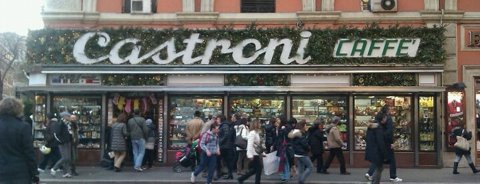 Caffè Castroni is one of Roma - a must! = Peter's Fav's.