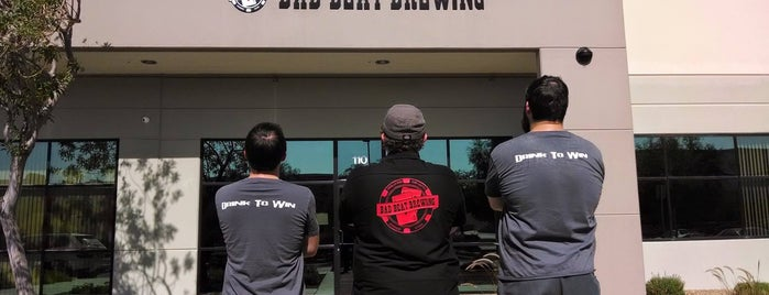 Bad Beat Brewing is one of Vegas.