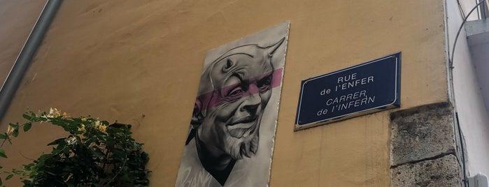 Rue De L'enfer is one of Perpignan 2021.