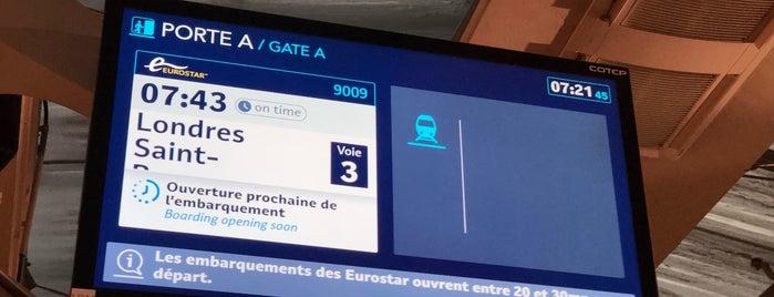 Terminal Eurostar is one of Lieux qui ont plu à Angela.