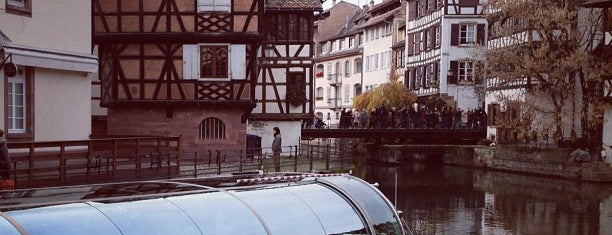 La Petite France is one of Strassbourg.
