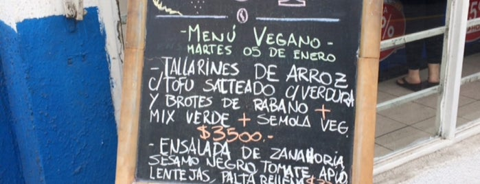Café Punto Tierra is one of Ruta Vegetariana.