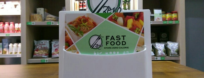 Zero fastfood is one of Mangiare vegan a Roma.