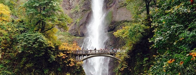 Multnomah Falls is one of World Heritage Sites List.