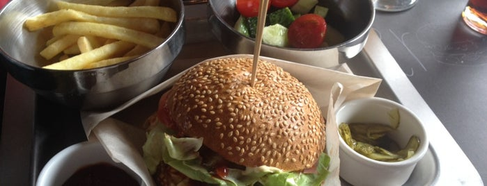 The Burger is one of Best food in Kyiv.