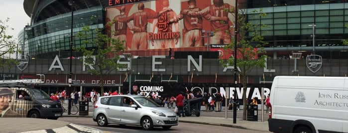 Emirates Stadium is one of London, For Unforgettable visit ♥️.