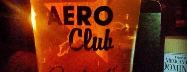 The Aero Club Bar is one of San Diego.