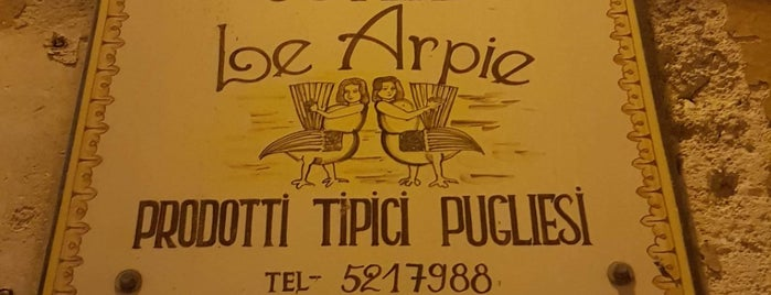 Osteria Le Arpie is one of Bari, Italy.
