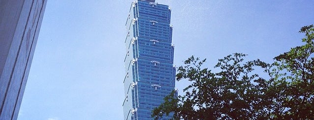 Taipei 101 is one of Taipei Tourist Spots.