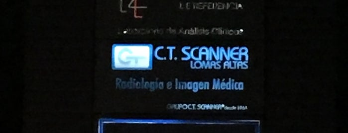 CT Scanner Lomas Altas is one of Orte, die Regina gefallen.