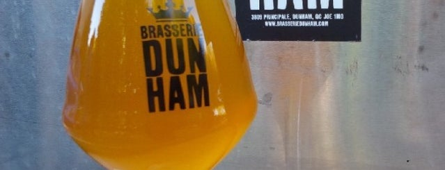 Brasserie Dunham is one of Beer / Ratebeer's Top 100 Brewers [2019].