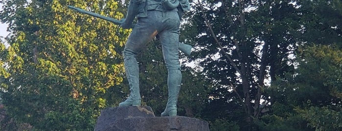 Minuteman Monument is one of Revolutionary War Trip.
