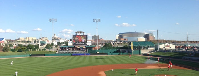 Haymarket Park is one of Lincoln.