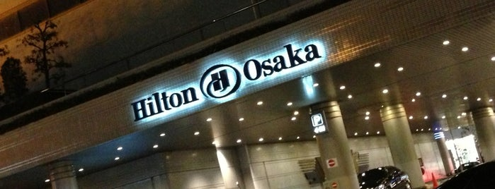 Hilton Osaka is one of Lieux qui ont plu à Chris.